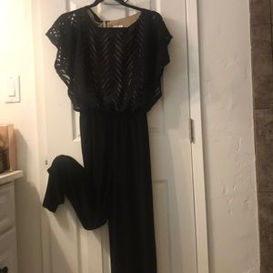 Dresses & Skirts - Lace top with inside lining, jumpsuit it pant .